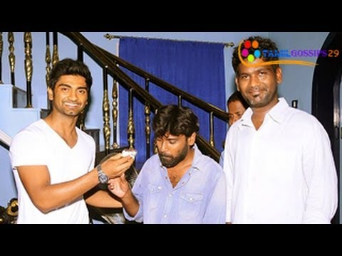 Actor Adharvaa Birthday Exclusive Video