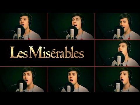 一個人分飾九個人唱的悲慘世界的歌曲!根本神人啊!