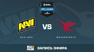 Navi.G2A vs. mousesports - ESL Pro League S5 - de_cobblestone [ceh9, yxo]