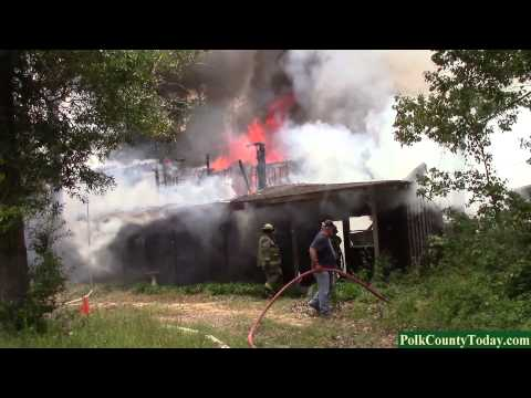 Fire totals two story home in South Polk County, Texas 04/28/14