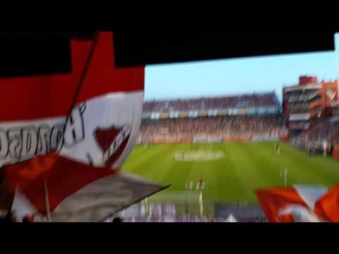 Yo soy asi/Gritando que te quiero voy a morir - Hinchada independiente 2016 - La Barra del Rojo - Independiente