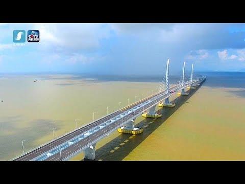 Chinas Rekordbrücke: 55 Kilometer für 20 Milliarden v ...