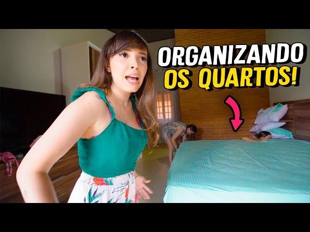 ORGANIZANDO OS QUARTOS PARA O MEU ANIVERSÁRIO - Taciele Alcolea