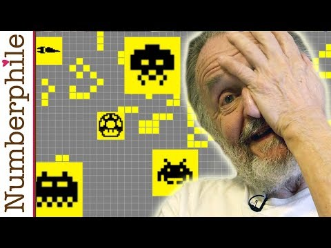 Inventing Game of Life (John Conway) - Numberphile