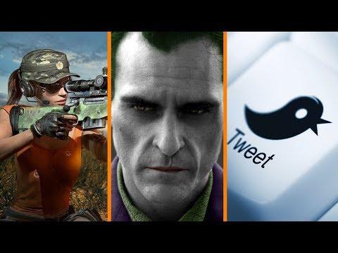 140+ PUBG Hackers Arrested + Joaquin Phoenix is the New Joker + Twitter Banning Millions