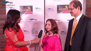 Sowmya speaks to Swati and Debajyoti Biswas on the RED CARPET