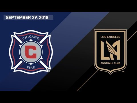 Video: HIGHLIGHTS: Chicago Fire vs. LAFC | September 29, 2018