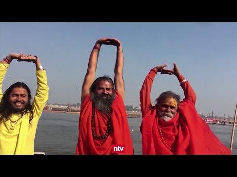 Indien: Größtes religiöses Fest der Welt zieht 120 Mi ...