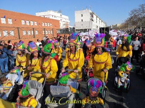 Cabalgata Infantil Carnaval Isla Cristina 2019.
