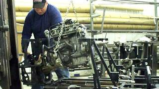 5. Apex Engine Install In RZR Frame Hawk Engineering Inc.