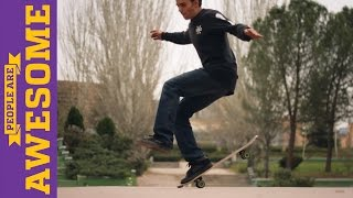 People are Awesome: Kilian Martin (Freestyle Skateboarding) - Part 2, clip giai tri, giai tri tong hop