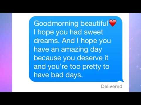 Good morning messages - CUTE & FUNNY GOOD MORNING GIRLFRIEND BOYFRIEND TEXTS 2016