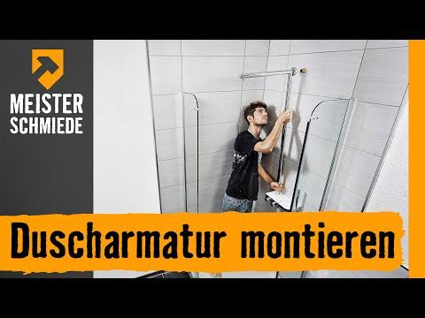 Duscharmatur montieren | HORNBACH Meisterschmiede