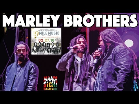 Marley Brothers - Is This Love & Buffalo Soldier @ 9 Mile Music Festival 2016
