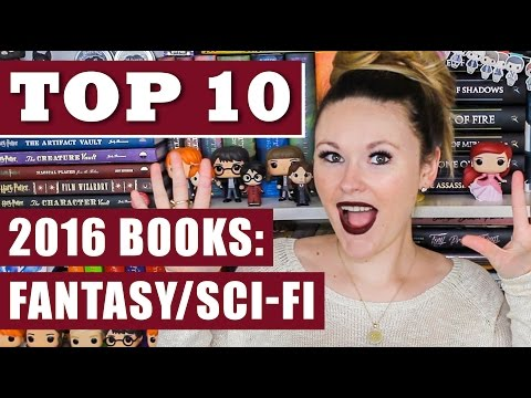 Top 10 Books of 2016 - Fantasy / Sci-Fi