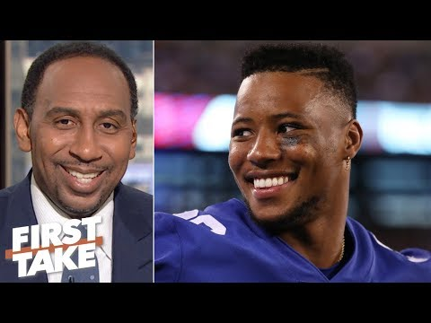 Video: Saquon Barkley outranks Ezekiel Elliott on Stephen A.'s top 5 NFL running backs   First Take