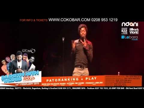 "BASKETMOUTH ""HOW SEX CHANGED"" - BASKETMOUTH LIVE AT THE APOLLO - 14TH FEB 2015 - HMV"