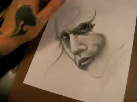 *Speed Drawing Joker by  Luke Red Tattoo*