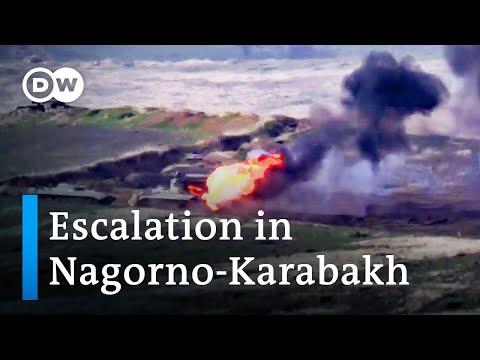 Armenia and Azerbaijan clash over disputed Nagorno-Karabakh region | DW News