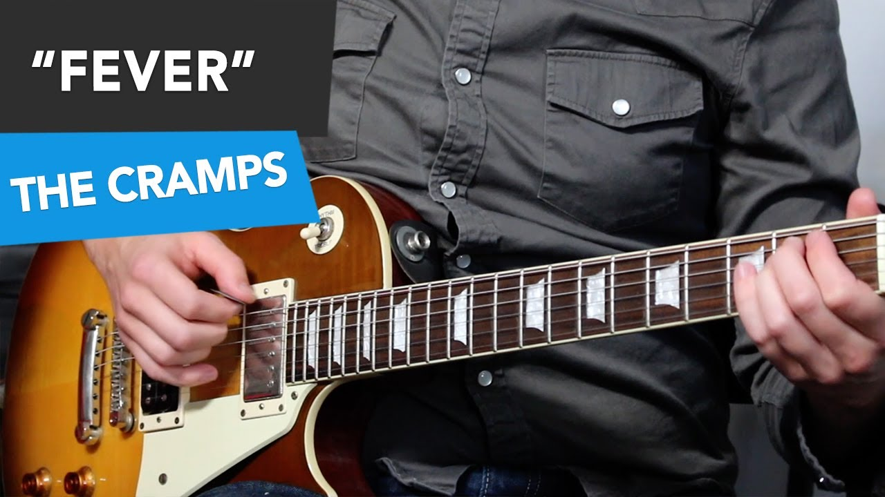 Fever Guitar Tutorial – VERY Easy Guitar Riff – E Minor Pentatonic Song #2
