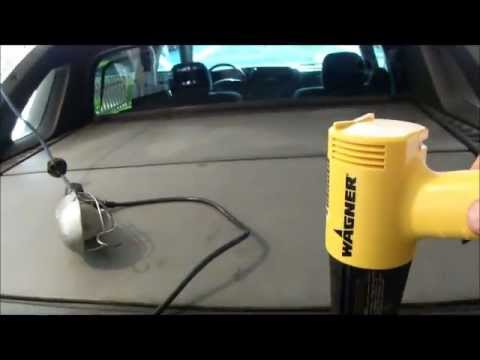 Restoring plastic parts on a Chevrolet Avalanche
