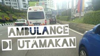 Video PEMANDU DI MALAYSIA SANGAT RESPONSIF JIKA ADA AMBULANS MP3, 3GP, MP4, WEBM, AVI, FLV Agustus 2018