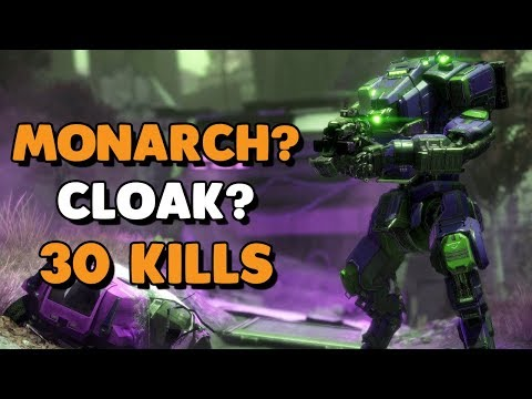 Titanfall 2 - INIQUITY USES MONARCH? CLOAK?   30k Mastiff