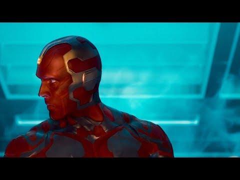 Creating Vison Vision Birth Scene Avengers Age of Ultron 2015 Movie CLIP HD