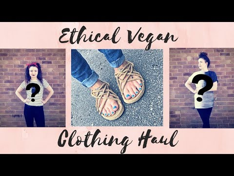 Ethical Vegan Haul #2 | People Tree, Corda Sandals, Pewdiepie Clothing Line