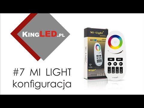 Mi Light - konfiguracja pilota z sterownikiem do taśmy LED #7 _ Poradnik od KINGLED pl