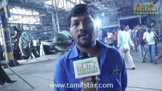Saleem at Thiruttu Rail Movie Shooting Spot