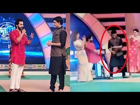 Varun Dhawan Makes Saurav Ganguly Dance On Oonchi