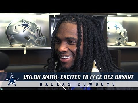 Jaylon Smith on His Excitement to Play Dez Bryant | Dallas Cowboys 2018