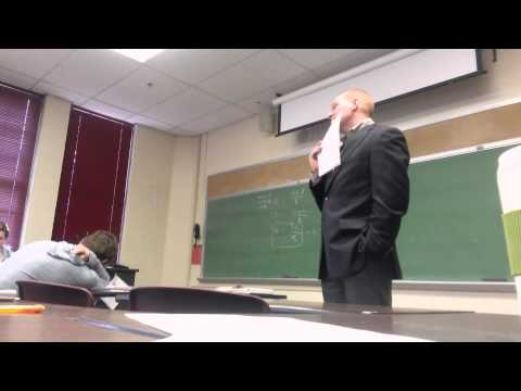 Pranks - SUBSCRIBE, follow-up videos coming in a few days! Aquinas College students play a prank on their hilarious Macroeconomics professor! http://www.aquinas.edu (...