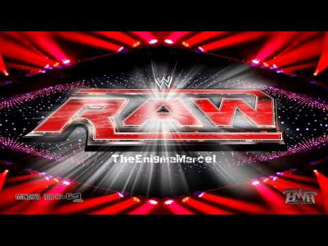 WWE Monday Night Raw 2010-2011 Theme Song (Burn It To The Ground) By Nickelback