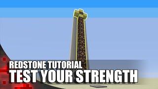 Minecraft: Test Your Strength