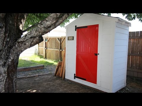 DIY Lawn & Garden Storage Shed: Part 2