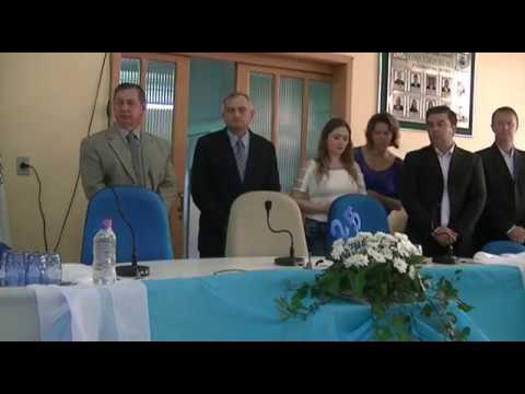 Sessão Solene em Homenagem ao 25º aniversário do Municipio de Coqueiros do Sul.