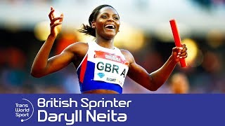 20 year-old Daryll Neita is one of the rising stars of British sprinting.  At the 2016 Olympic Games in Rio, she won the bronze medal in the 4x100m relay.  Trans World Sport met up with Daryll as she prepared for a home World Championships in London.Subscribe to Trans World Sport: http://goo.gl/5kBsQTWS features sports action from around the globe, including reports from the biggest international competitions, in-depth features on lesser-known sports and profiles of rising stars of the future.Follow us:http://twitter.com/TransWorldSportLike us on Facebook:http://www.facebook.com/transworldsport87
