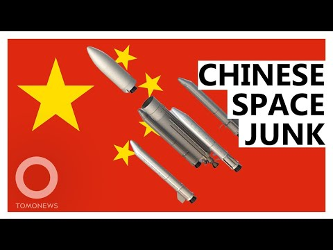 Giant Chinese Rocket Makes 'Uncontrolled Fall'