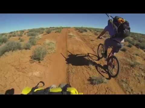4 Day Bikepacking, Packrafting, Canyoneering Loop: S. Fork of Robbers Roost/Dirty Devil / No Mans