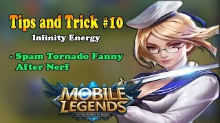 Download Video Spam Tornado Fanny AfrerNerf - Tips and Trick Fanny - Mobile Legends MP3 3GP MP4