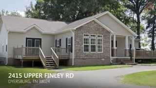 Dyersburg (TN) United States  City pictures : 2415 Upper Finley Road, Dyersburg, TN