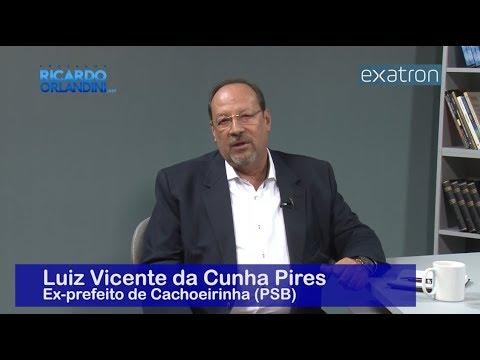 Ricardo Orlandini entrevista  o ex-prefeito de Cachoeirinha, Luiz Vicente da Cunha Pires.