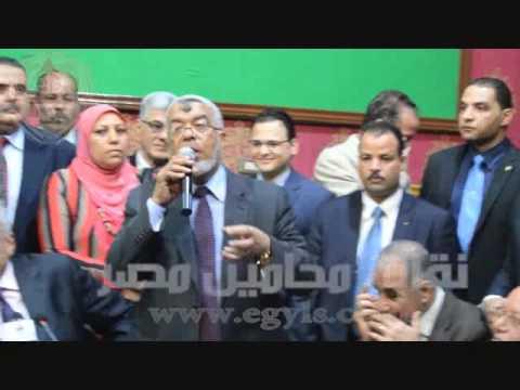 خالد ابوكراع :اليوم هو استعاده لمقر المحامين بدار القضاء العالى