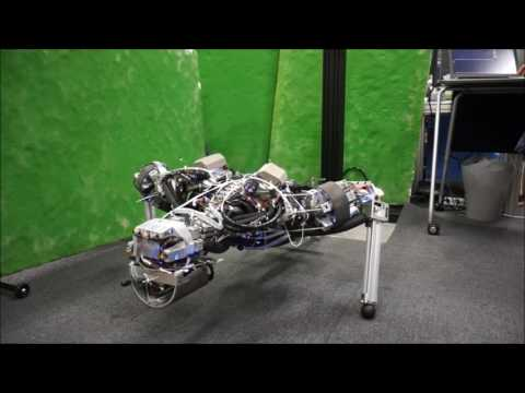 A Robot That Sweats From Its Bones