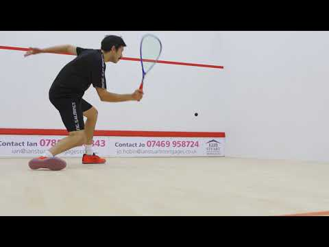 Squash tips: Open racket face with Jethro Binns