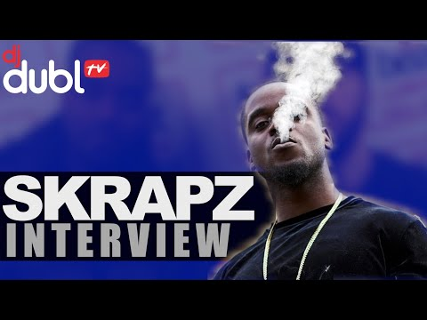 SKRAPZ INTERVIEW | MAKING TRANSITION FROM STREETS TO MUSIC, 'DIFFERENT CLOTH' ALBUM @DJDUBL @skrapzisback