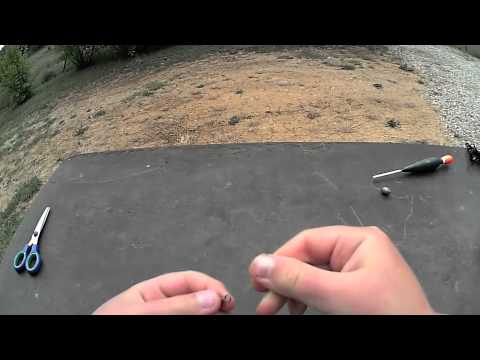comment monter une ligne de peche pour la truite en riviere