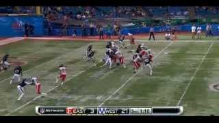 Terron Armstead vs West (Shrine Game)